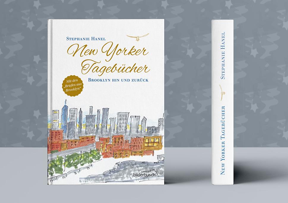 Sammelband der New Yorker Tagebücher von Stephanie Hanel